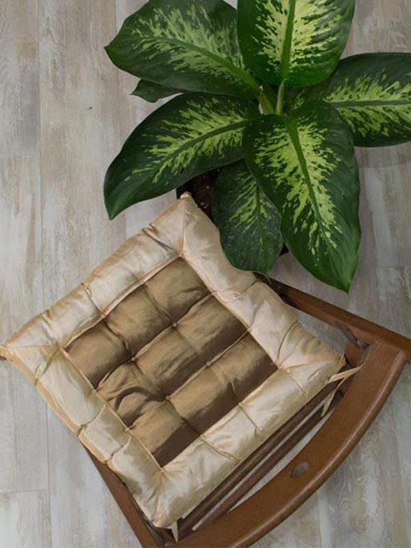 Μαξιλάρι καρέκλας σατέν Beige