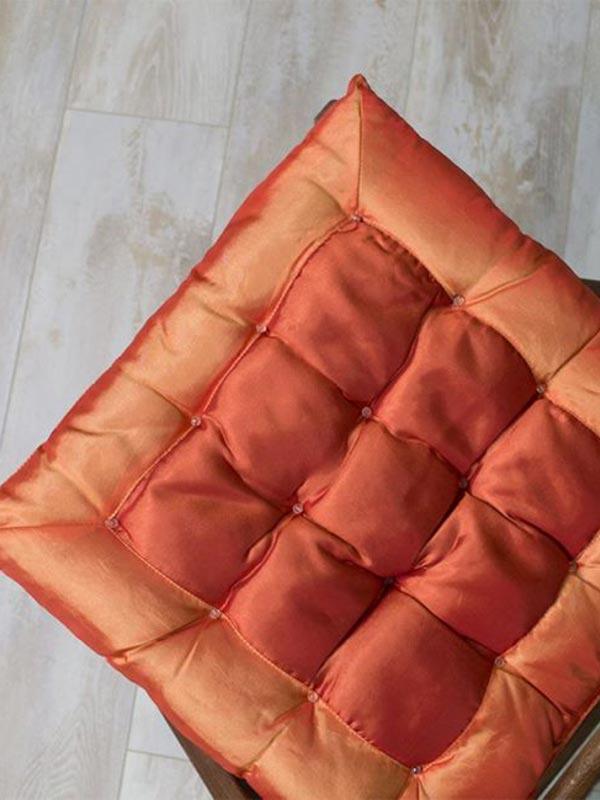 Μαξιλάρι καρέκλας σατέν Orang...