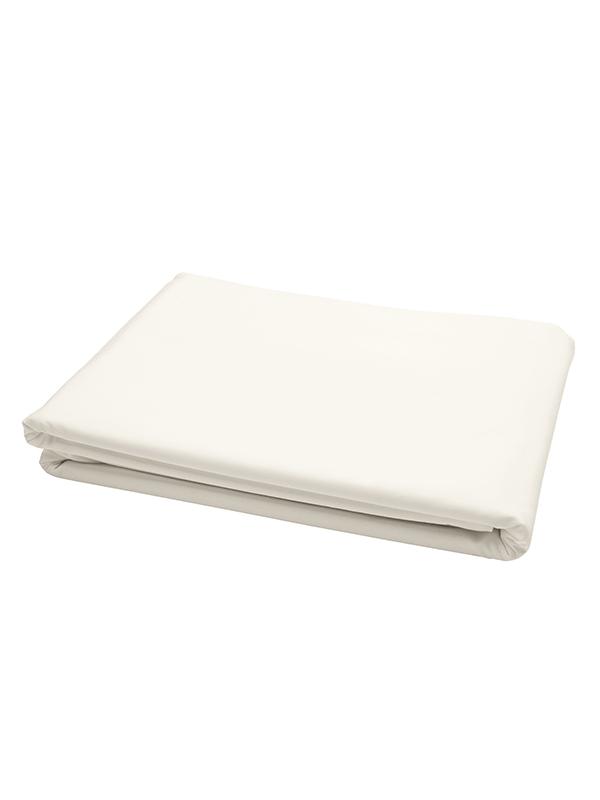 Σεντόνι Cotton Feelings φλατ 100 White
