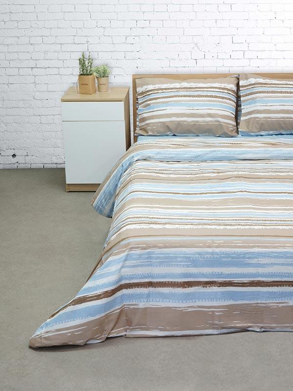 Σετ Σεντόνια Cotton Feelings 1222 blue