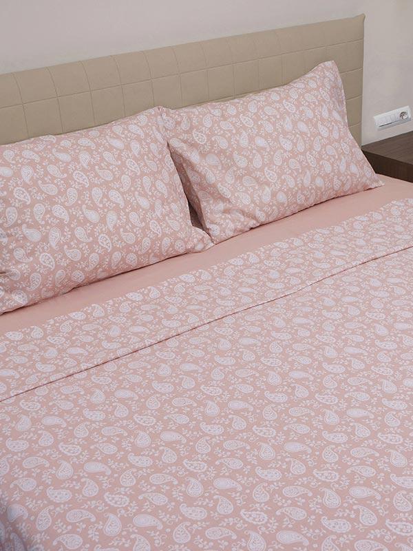 Σετ Σεντόνια Cotton Feelings 1232 Pink
