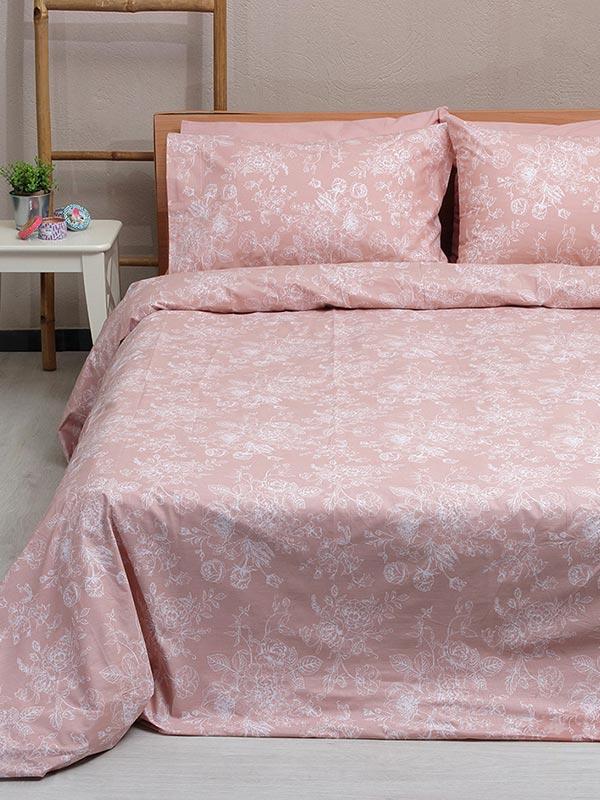 Σετ Σεντόνια Cotton Feelings 2022 pink