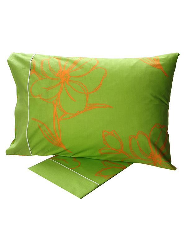 Σετ Σεντόνια Cotton Feelings εμπριμέ 537 Green