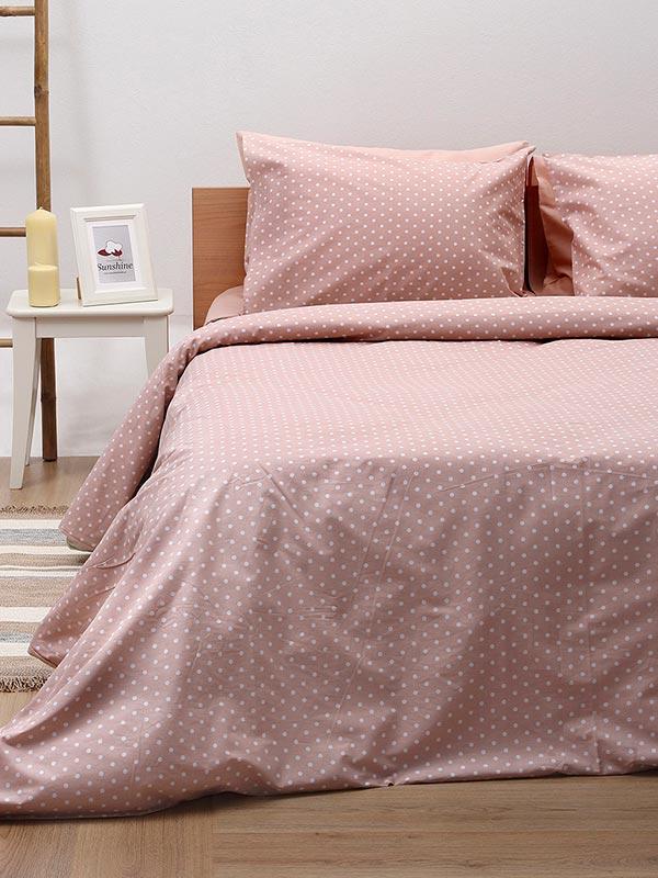 Σετ Σεντόνια Cotton Feelings 5416 pink