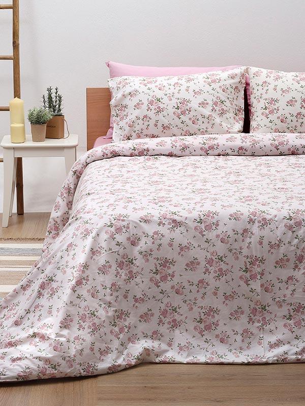 Σετ Σεντόνια Cotton Feelings 929 pink