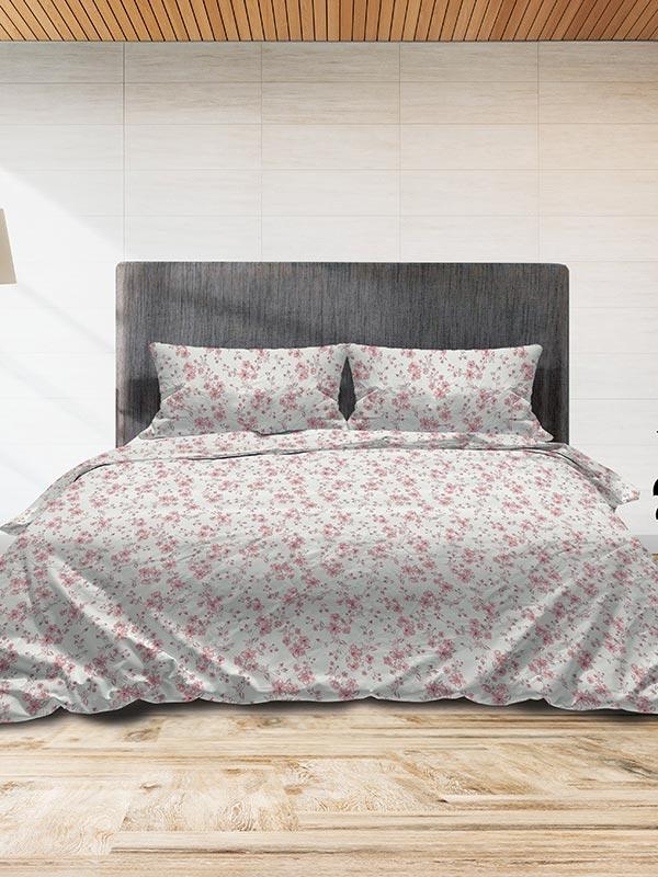 Σετ Σεντόνια Flannel 3240 Pink