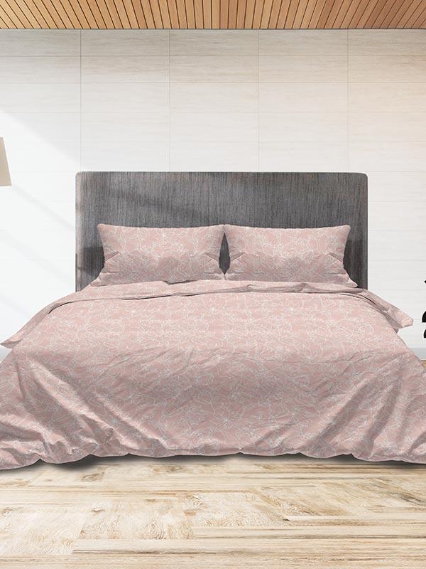 Παπλωματοθήκη Flannel 020 Pink