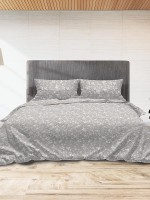 Παπλωματοθήκη Flannel 040 Grey