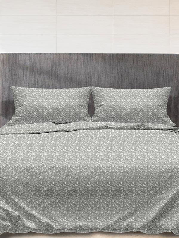 Παπλωματοθήκη Flannel 920 Grey