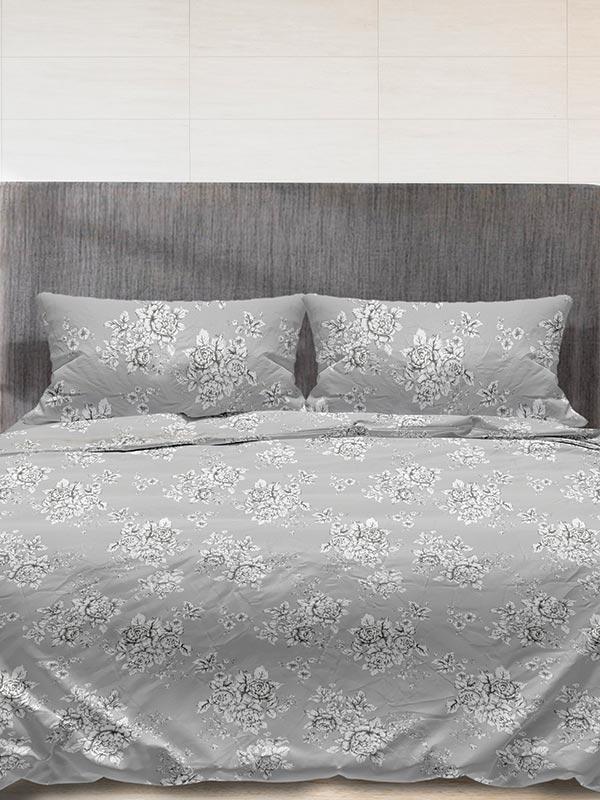 Παπλωματοθήκη Flannel 960 Grey