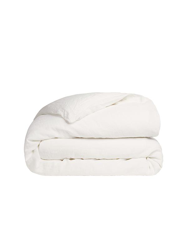 Παπλωματοθήκη Cotton Feelings 100 White