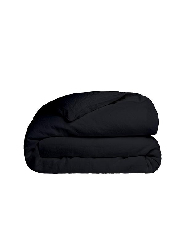 Παπλωματοθήκη Cotton Feelings 111 Black