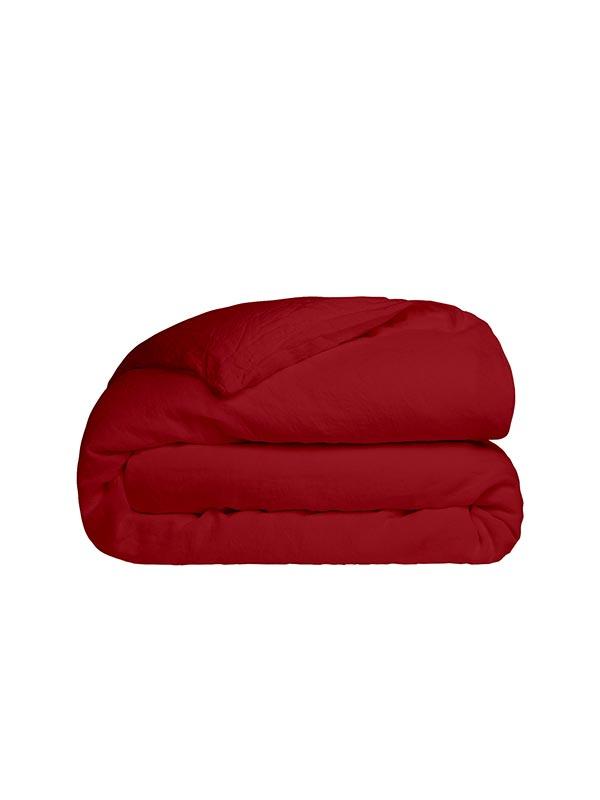 Παπλωματοθήκη Cotton Feelings 113 Red