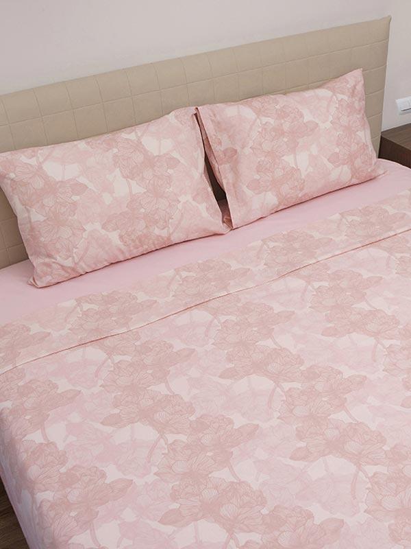 Παπλωματοθήκη Cotton Feelings 2032 Pink