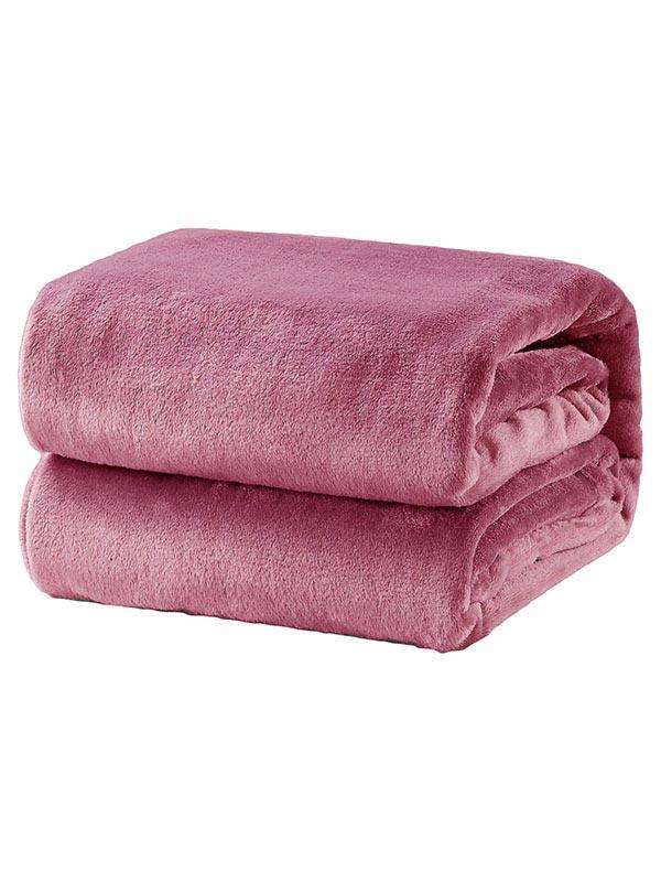 Κουβέρτα βελούδινη Velour 17 Coral