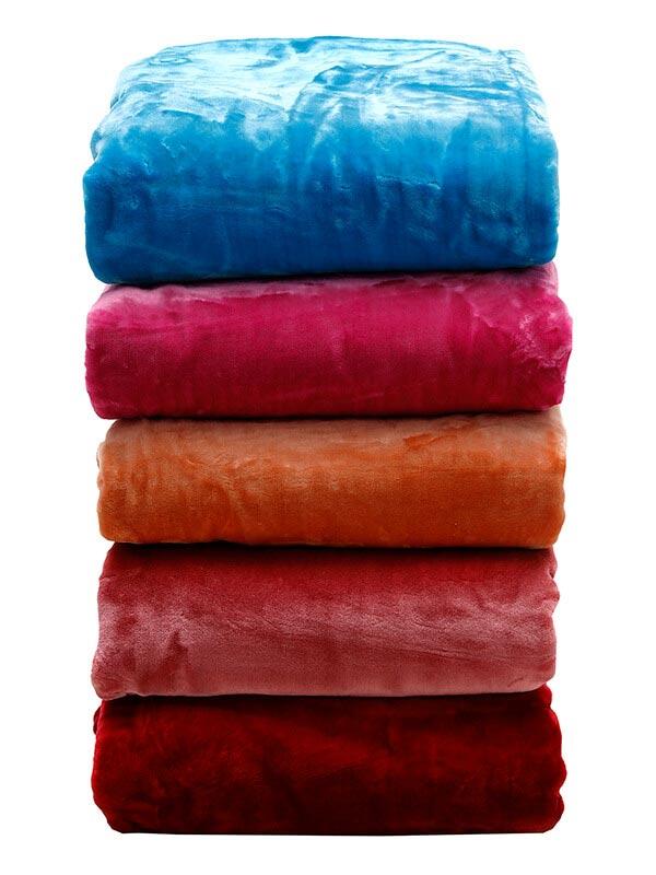 Κουβέρτα βελούδινη Velour 29 Rose