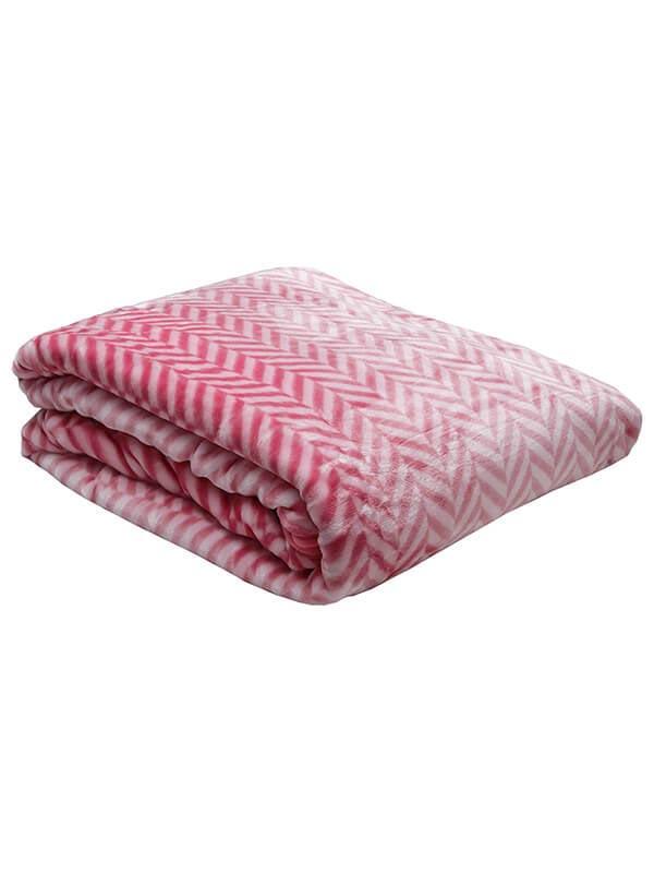 Κουβέρτα βελούδινη ζακάρ Fuc...