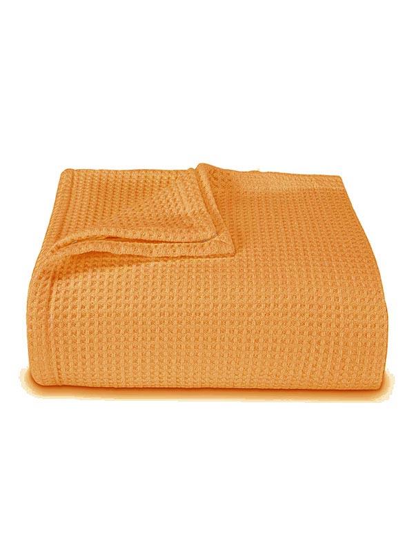 Κουβέρτα πικέ colors Orange