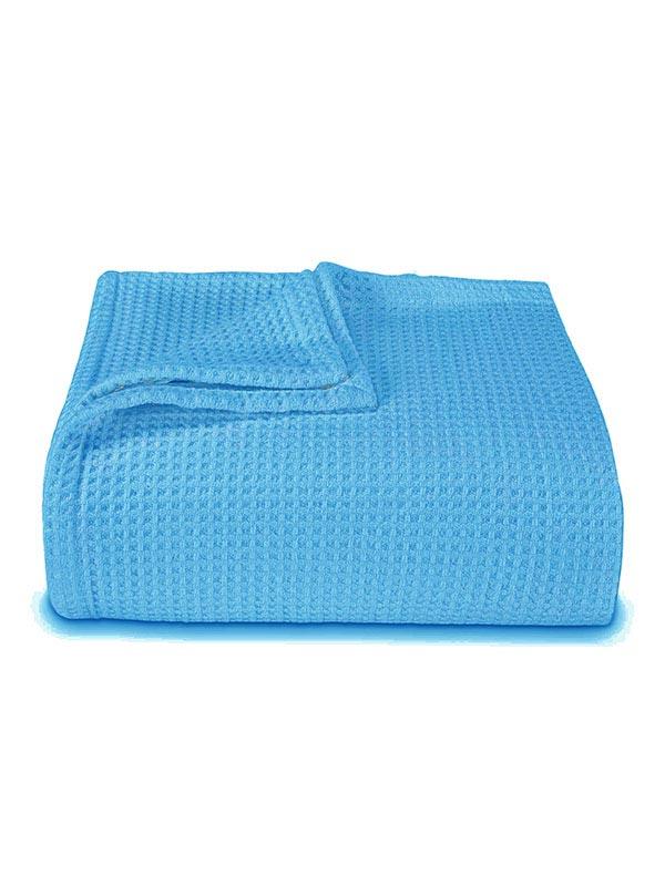 Κουβέρτα πικέ colors Turquoise