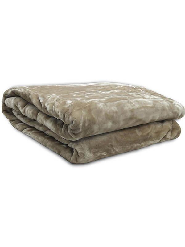 Κουβέρτα βελούδινη Iris Elephant