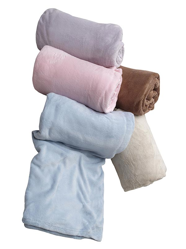 Κουβέρτα coral fleece Beige