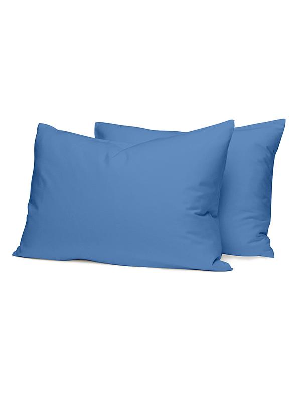 Μαξιλαροθήκες Cotton Feelings 104 Blu...