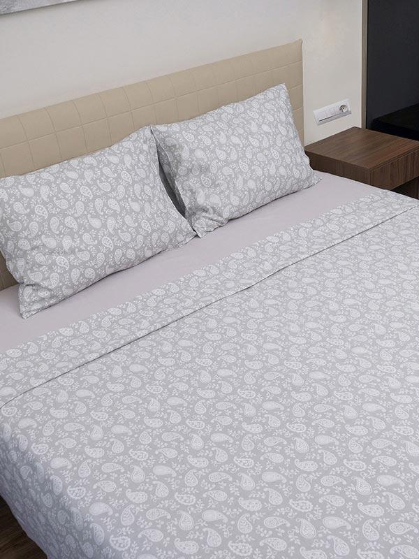 Μαξιλαροθήκες Cotton Feelings 1232 Grey