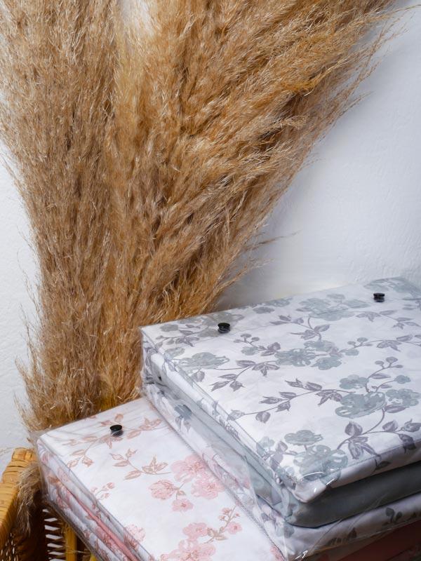 Μαξιλαροθήκες Cotton Feelings 3240 Grey