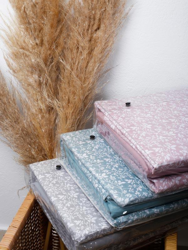Μαξιλαροθήκες Cotton Feelings 920 Aqua