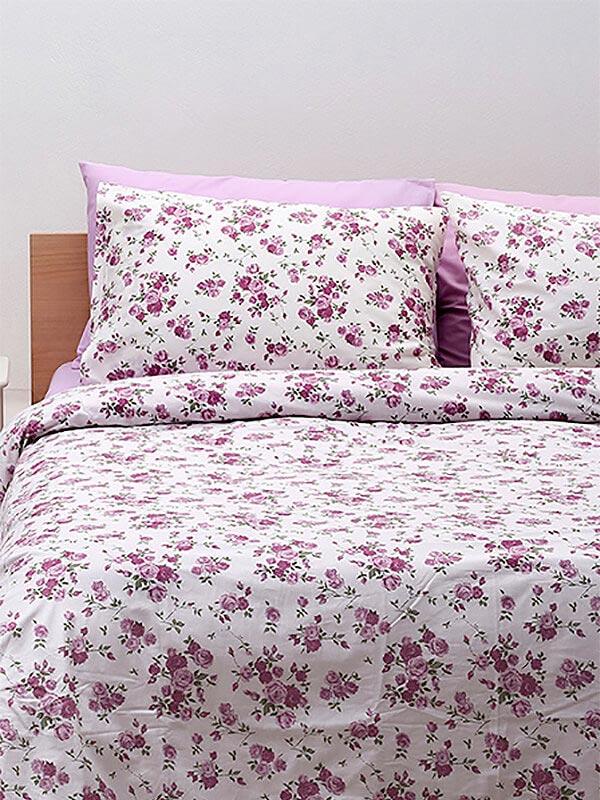 Μαξιλαροθήκες Cotton Feelings 929 Lilac