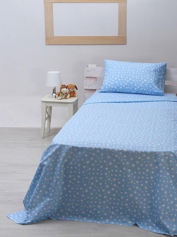 Σετ Σεντόνια cotton feelings 22 blue
