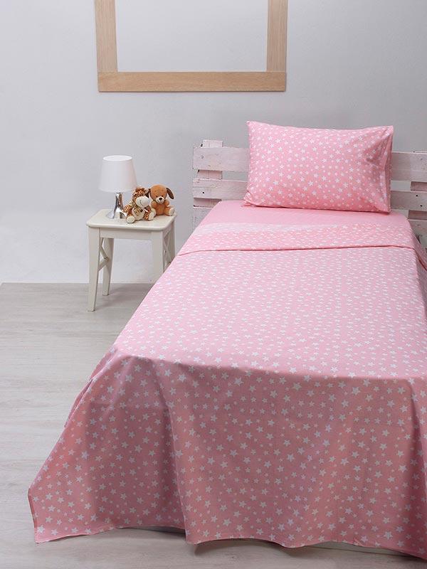 Σετ Σεντόνια cotton feelings 22 pink