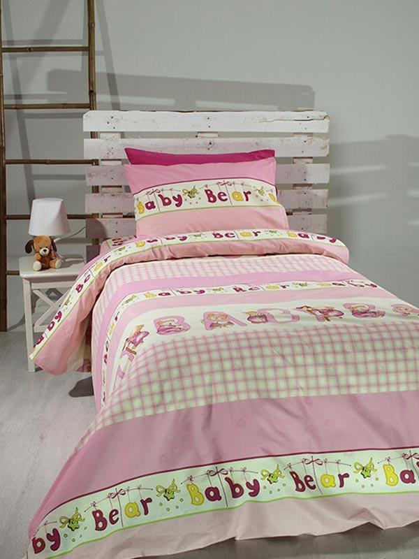 Σετ Σεντόνια Cotton Feelings 8481 pink