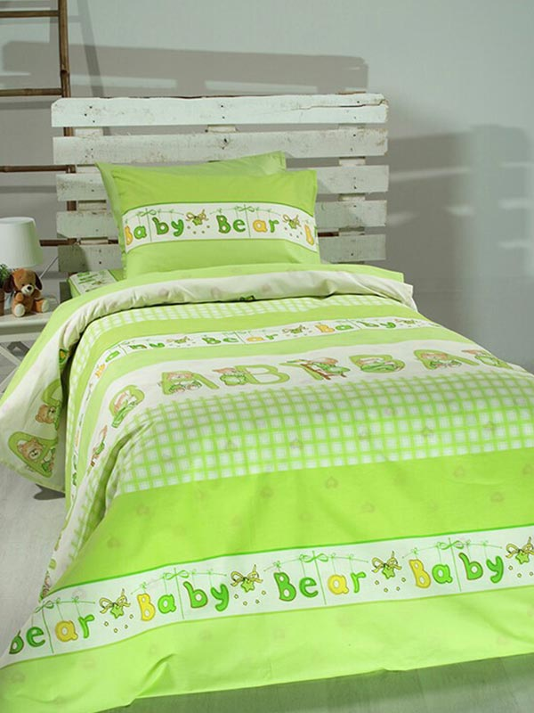 Σετ Σεντόνια Cotton Feelings 8481 green
