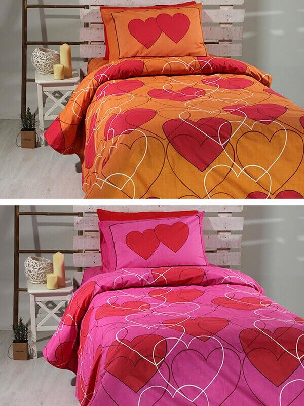 Σετ Σεντόνια Cotton Feelings 910 orange