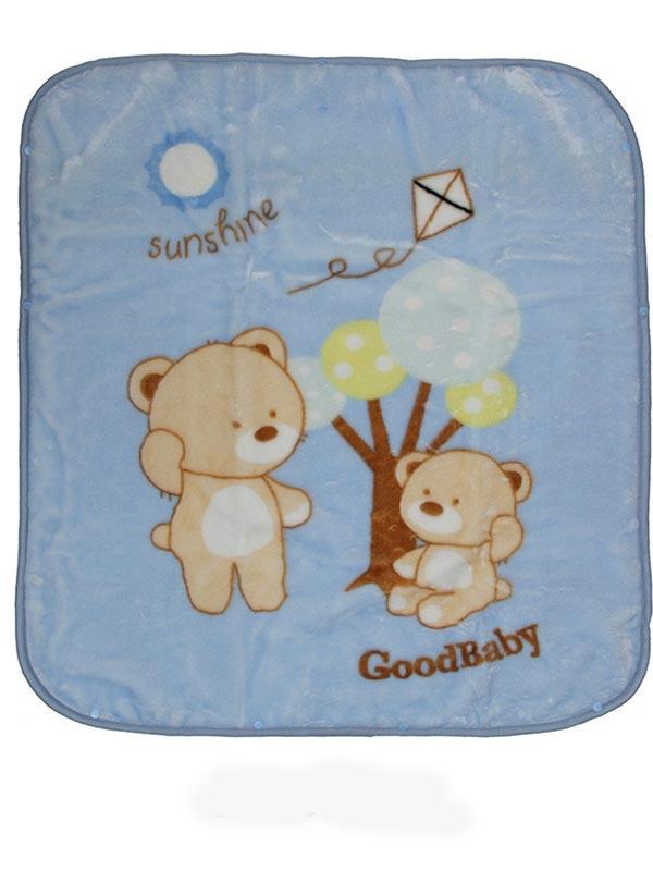 Κουβέρτα βελουτέ αγκαλιάς 682 Blue