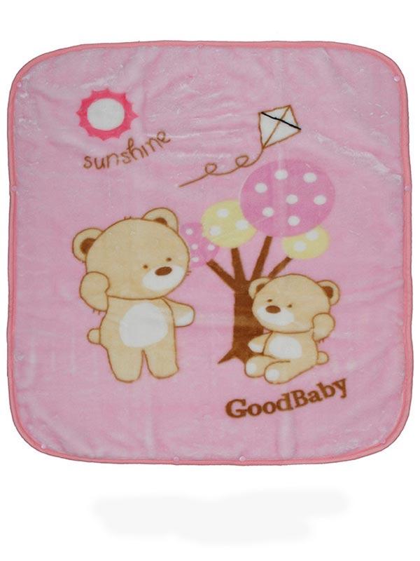 Κουβέρτα βελουτέ αγκαλιάς 682 Pink