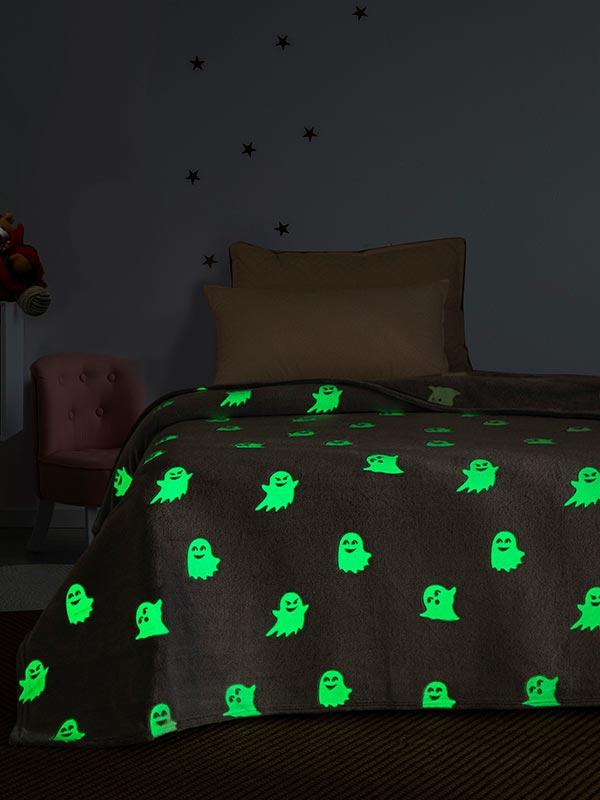 Κουβέρτα φωσφοριζέ μονή 05 Ghost