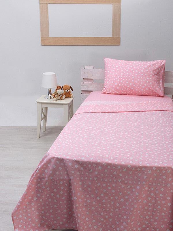 Παπλωματοθήκη Cotton Feelings 22 Pink