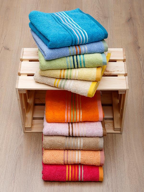 Πετσέτα πενιέ Stripes Orange