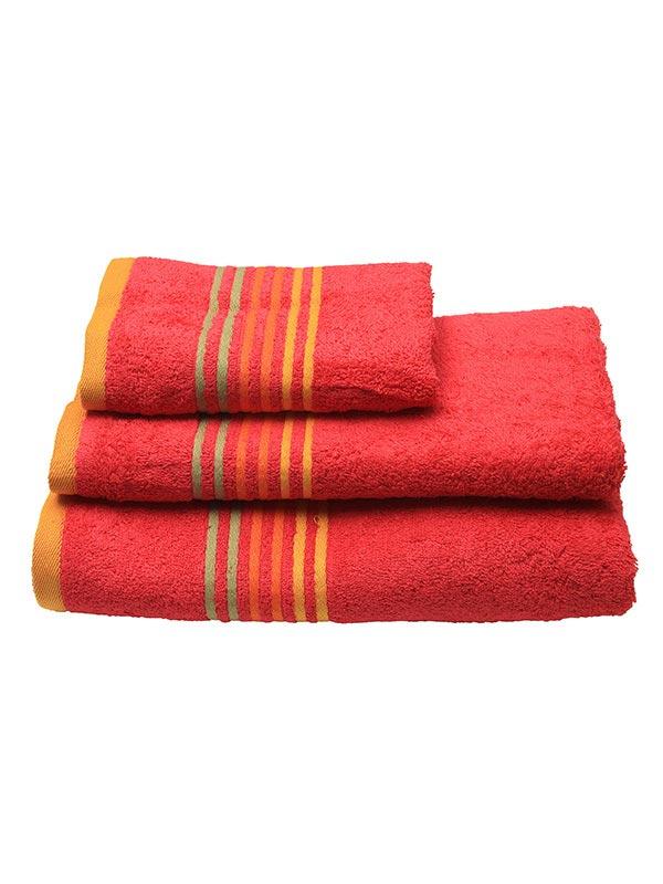 Πετσέτα πενιέ Stripes Fuchsia