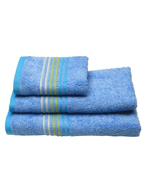 Πετσέτα πενιέ Stripes Light Blue