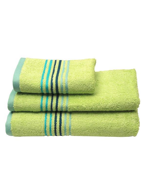 Πετσέτα πενιέ Stripes Light Green
