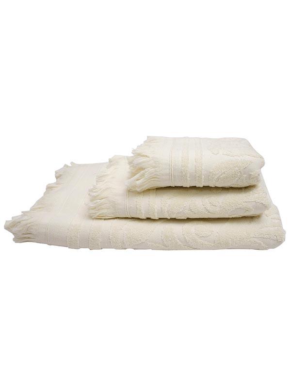 Πετσέτα Κρόσι 10 Ecru