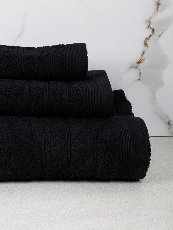 Πετσέτα Χίμπουρι 15 Black