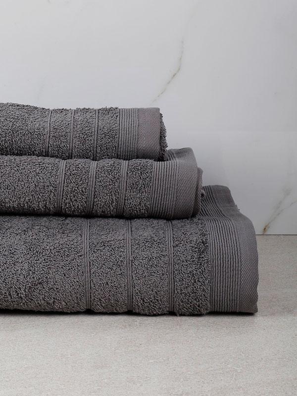 Πετσέτα Χίμπουρι 9 Grey