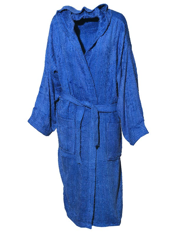 Mπουρνούζι χρωματιστό Blue