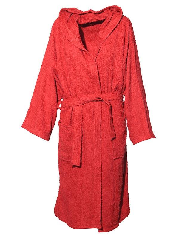 Mπουρνούζι χρωματιστό Red