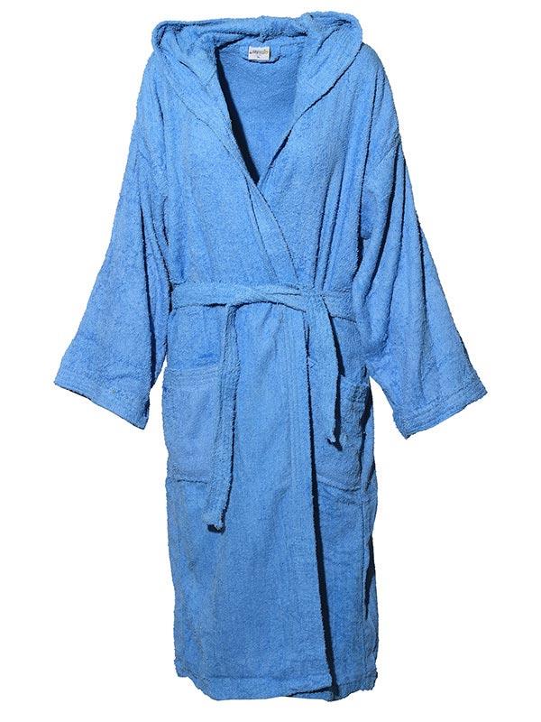 Mπουρνούζι χρωματιστό Sea Blue
