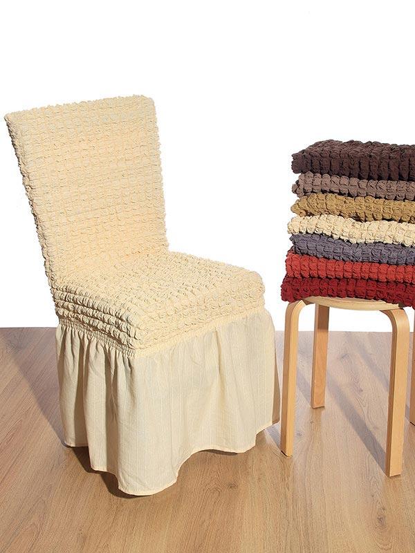 Κάλυμμα καρέκλας γκοφρέ Brick
